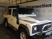LANDROVER DEFENDER 110 2.4 TDI DOUBLE/CAB 4DR 2402